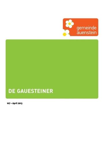 Gauesteiner 107